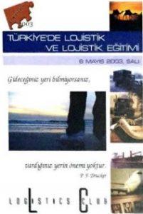 Türkiye'de Lojistik ve Lojistik Eğitimi