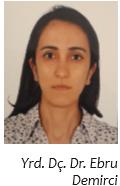 Yrd. Doç. Dr. Ebru Demirci