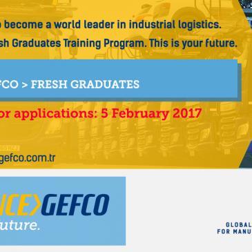 GEFCO Yeni Mezun Eğitim Programı