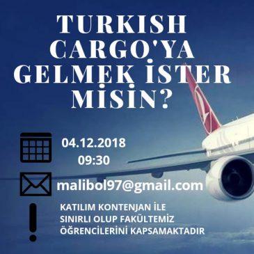 Turkish Cargo Tesislerine Gidiyoruz