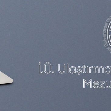 İstanbul Üniversitesi Ulaştırma Ve Lojistik Fakültesi Mezun Platformu