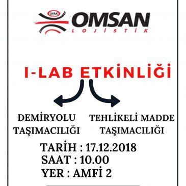 Omsan Lojistik I-Lab Etkinliği Kapsamında Aramızda Olacak